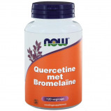 Afbeelding van Now Foods Quercetin With Bromelain 120 Veggie Caps