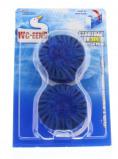 Afbeelding van Wc Eend Stortbakblok Blauw Duo, 2x50 gram