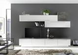 Afbeelding van Benvenuto Design Bex TV wandmeubel 16 Wit / Oxid