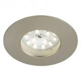 Afbeelding van Briloner led inbouwlamp Till voor buiten, mat nikkel, kunststof, 5 W, energie efficiëntie: A+, H: 2.8 cm