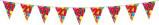 Afbeelding van Amigo Vlaggenlijn ballonnen: 21 jaar 10 meter