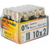 Afbeelding van Ansmann alkaline batterij x power micro aaa 20 stuks display