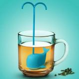 Afbeelding van Tea Infuser Blauwe walvis van Balvi