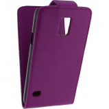 Afbeelding van Xccess Flip Case Samsung Galaxy S5 Mini Purple