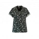 Afbeelding van America Today blouse met allover print Illy zwart