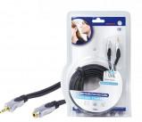 Afbeelding van HQ hoge kwaliteit audio verleng kabel 10 meter
