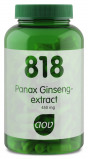 Afbeelding van AOV 818 Panax Ginseng Extract 450 Mg, 180 Veg. capsules