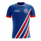 Image of 2017 2018 Iceland Home Concept Football Shirt (Kids)