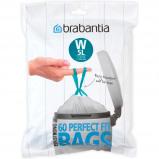 Afbeelding van Brabantia Perfectfit Code W 5 Liter (60 stuks) afvalzak