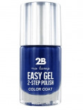 Afbeelding van 2b Nagellak easy gel 2 step polish 509 kings blue 1 Stuk
