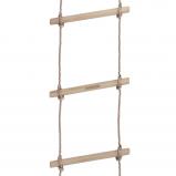 Abbildung von Fatmoose Strickleiter EasyUp mit 4 Sprossen Seilleiter Kletterleiter