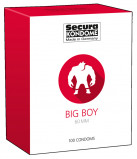 Abbildung von Big Boy Kondome 100 Stücke in Durchsichtig Latex