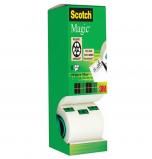 Billede af Scotch magic tape 8 ruller, 19mm x 33m (ps 3M XA004839487)