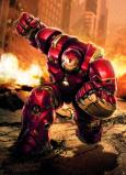 Afbeelding van Avengers Hulkbuster 4 delig Fotobehang 184x254cm Film