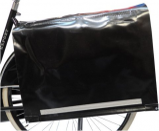 Afbeelding van De Poort Luxe XXXL krantentas (Kleur: zwart)