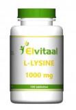Afbeelding van Elvitaal L lysine 1000 Mg, 100 tabletten