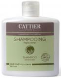 Afbeelding van Cattier Shampoo vet haar groene klei 250ml