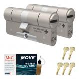 Afbeelding van Cilinderslot M&C Move (2 stuks)