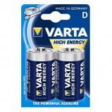 Afbeelding van Batterij Varta Longlife Power 2xD Staaf En Blokbatterijen