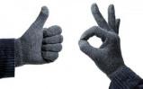 Afbeelding van Touchscreen Gloves Casual Grey Avanca