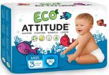 Afbeelding van Attitude Ecologische luiers maat 5 22 stuks