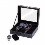 Bilde av Watchbox Black, suitable for 10 watches.