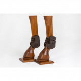 Obrázek Back on Track Royal Fetlock Boots Brown M Cob