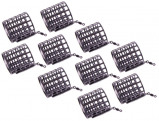 Image of 10 x Ultimate Metal Cage swim feeders (choose from 7 options)