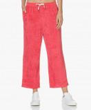 Afbeelding van American Vintage Sweatpants Red Berries Ponpon Velours Cropped