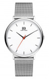 Afbeelding van Danish Design IQ62Q1190 herenhorloge wit edelstaal