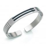 Afbeelding van Boccia 0340 02 heren armband