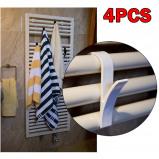 Εικόνα του #20 4pcs High Quality Hanger For Heated Towel Radiator Rail Bath Hook Holder Household Accessories New Arrivals Home Tools