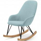 Afbeelding van LaForma Ivette kinderschommelstoel blauw