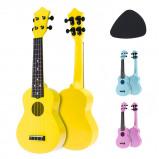 Εικόνα του 21 Inch Acoustic Ukulele Uke 4 Strings Hawaii Guitar Guitar Instrument for Kids and Music Beginner
