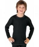 Afbeelding van Best4body Verbandshirt Kind Zwart Lange Mouw 98 104, 1 stuks