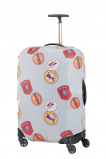 Afbeelding van Samsonite Accessoires Lycra Luggage Cover M heritage patches Kofferhoes
