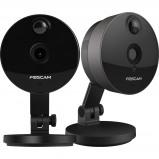 Afbeelding van Foscam C1 Zwart Duo Pack IP camera