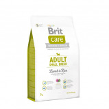 Afbeelding van Brit Care Adult Small Breed Lam & Rijst Hond 3kg Hondenvoer Droogvoer