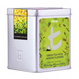 Afbeelding van Dilmah Green Tea With Jasmine Flowers 20st