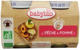Afbeelding van Babybio Dessert Perzik 4 Maanden 130 gram, 2x130 gram