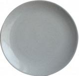 Afbeelding van Dassie Artisan Earth dinerbord ø 28cm (Kleur: lichtgrijs)