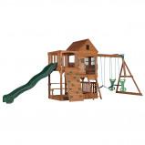 Afbeelding van Backyard Discovery Hill Crest speeltoren met schommels