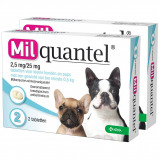 Abbildung von Wurmtabletten 2,5mg/25mg Puppy Kleiner Hund 2 Tabletten <5kg