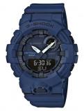Afbeelding van Casio G Shock GBA 800 2AER Bluetooth horloge herenhorloge Blauw