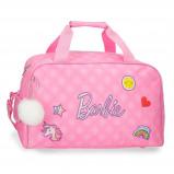 Afbeelding van Barbie reistas 22 liter roze