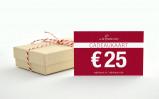 Afbeelding van Cadeaukaart 25 euro