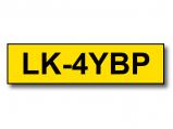 Bilde av Alternativ til Epson LK 4YBP svart tekst på gul tape 12mm x 9m C53S654008