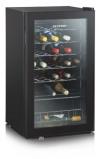 Afbeelding van Severin KS 9894 Vrijstaand Zwart 33fles(sen) A wijnkoeler