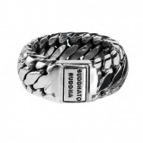 Afbeelding van Buddha to 542 Ring Ben Small Maat 17 zilver