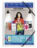 Afbeelding van Elastomap Elba A4 Polyvision Inclusief Insteektas Transparant
